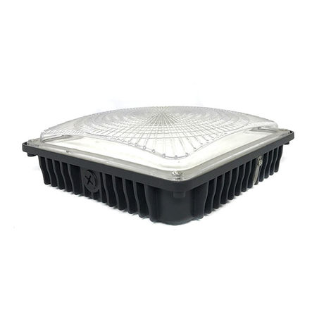 45w Led Garage Light ETL DLC Gas Station Canopy Led Light