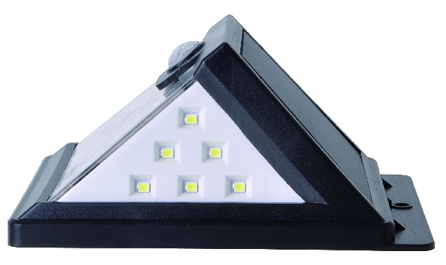 IP65 sensor control solar wallpack light 2700-6500K 2 years warranty