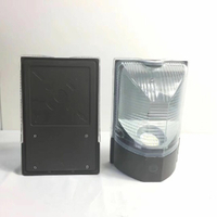 10W photocell Control IP65 120V ETL/DLC Certified Small Wallpack Light