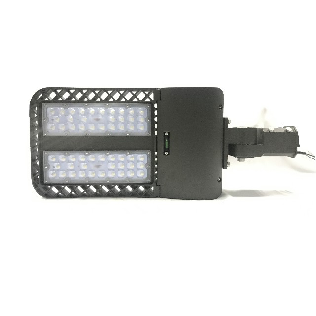 300w LED Parking Lot Lighting with Arm Slip Fitter